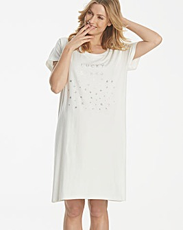 Pretty Secrets Metallic Star Nightie