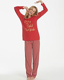 Pretty Secrets Christmas Pyjama Set