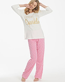 Pretty Secrets Printed Pyjama Set