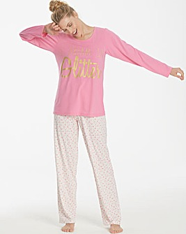 Pretty Secrets Long Sleeve Pyjama Set