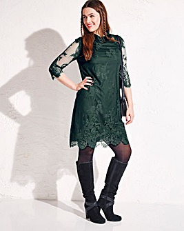 Simply Be Lace Tunic Dress