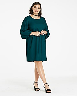 Bell Sleeve Shift Dress