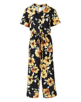 Shirt Culotte Jumpsuit