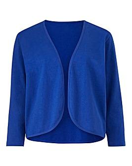 Cobalt 3/4 Sleeve Jersey Shrug