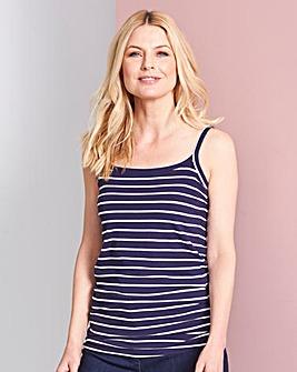 Navy Stripe Camisole