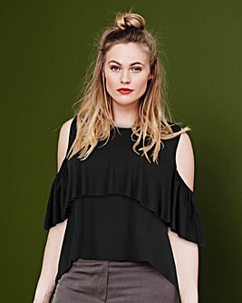 Simply Be Frill Top