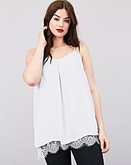 Simply Be Lace Trim Cami
