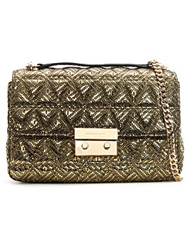 Michael Kors Pyramid Quilted Shoulder
