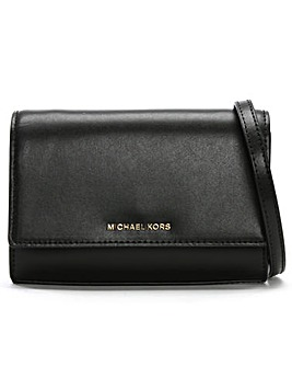 Michael Kors Smooth Leather Clutch Bag