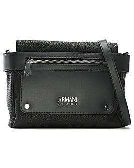 Armani Jeans Collared Shoulder Bag