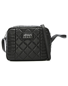 Armani Jeans Mix Quilted Shoulder Bag