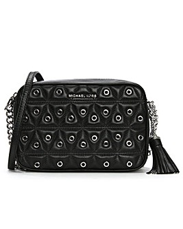Michael Kors Quilted Grommet Camera Bag