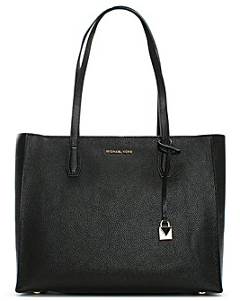 Michael Kors Large Top Zip Box Tote