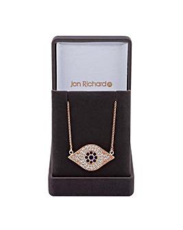 Jon Richard Cubic Zirconia Eye Necklace