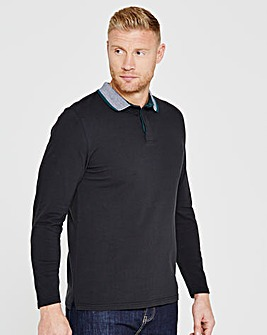 Flintoff By Jacamo L/S Polo Long