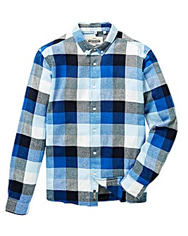 Jacamo Jetty L/S Check Shirt Long