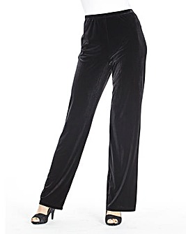 JOANNA HOPE Velour Trousers 31in