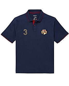 Raging Bull Mighty Crest Polo Shirt