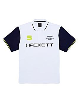 Hackett Mighty AMR Colourblock Polo
