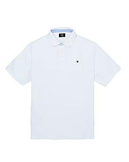 Hackett Mighty Print Collar Polo Shirt