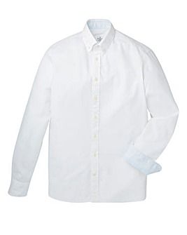 Hackett Mighty Garment Dyed Oxford Shirt