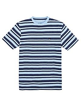 Raging Bull Mighty Marl Stripe T-Shirt