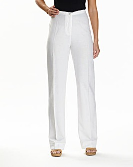 JOANNA HOPE Linen Blend Trousers 33in