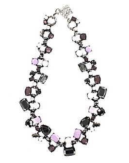 Chunky Faceted Necklace