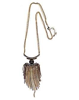 Lizzie Lee Tassel Necklace