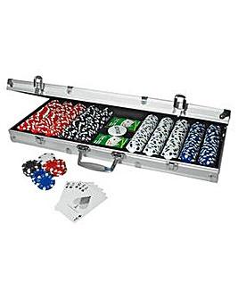 Professional 500 Chip Poker Set