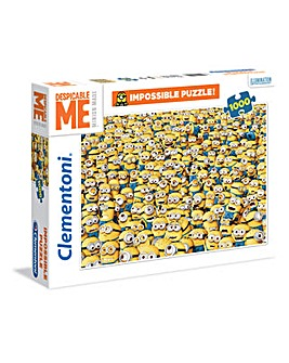 1000 Piece Minions Impossible Puzzle