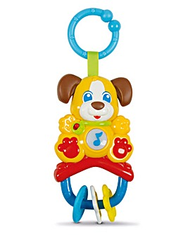 Baby Clementoni Electronic Rattle Dog