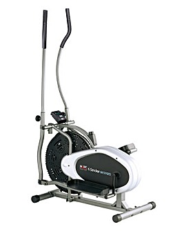 Dual Action Fan Elliptical Cross Trainer