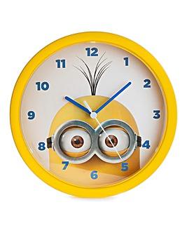 Minions Plastic Wall Clock