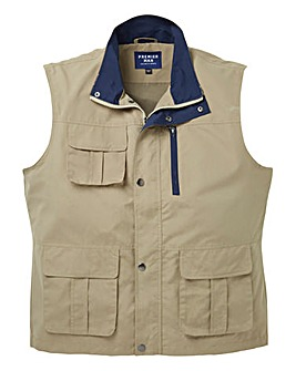 Premier Man Multi Pocket Gilet