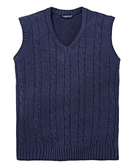 Premier Man V Neck Cable Slipover