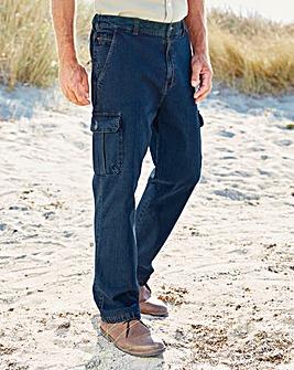 Premier Man Cargo Jeans 29in