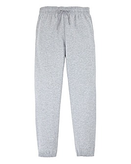 Capsule Grey Cuffed Jogging Pant 29in