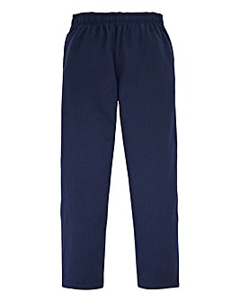 Capsule Navy Straight Hem Jog Pants 27in