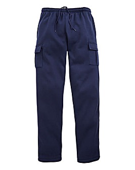 Capsule Navy Cargo Trousers 31in