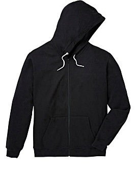 Capsule Black Full Zip Hoody Long