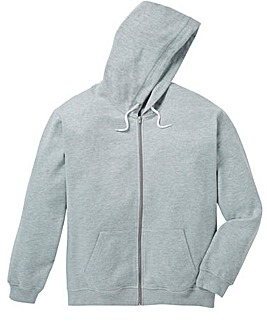 Capsule Grey Full Zip Hoody Regular