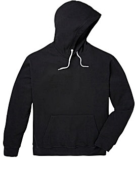 Capsule Black Over Head Hoody Regular