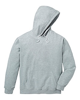 Capsule Grey Over Head Hoody Long