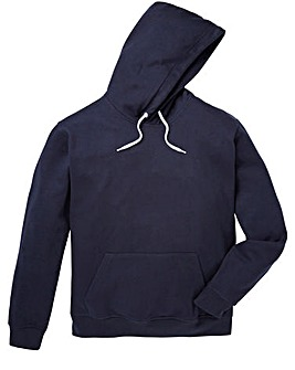 Capsule Navy Over Head Hoody Long