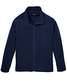 Capsule Navy Full Zip Through Fleece