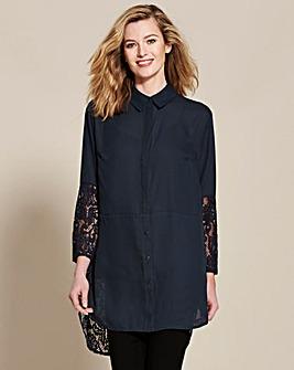 Longline Lace Shirt