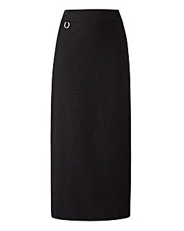 PVL Smart Tailored Maxi Pencil Skirt