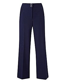 Wide Leg Tailored Trouser Reg