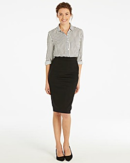 Shape & Sculpt Workwear Pencil Skirt